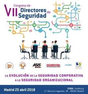 Vigilant en VII Congreso de DIRECTORES de SEGURIDAD - Programa