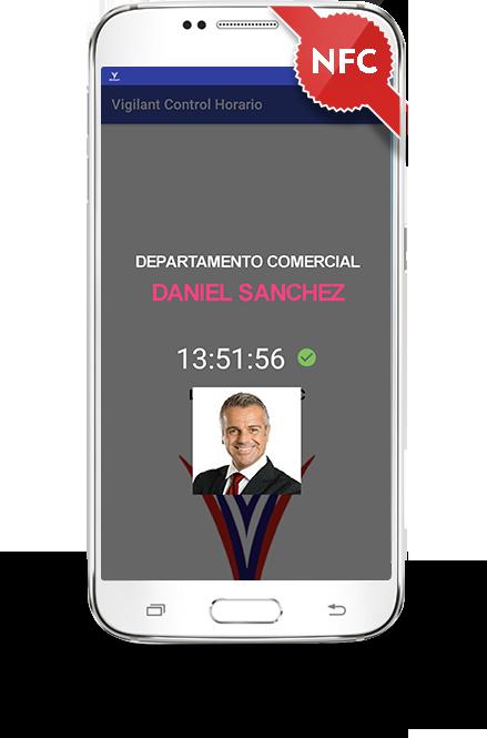 APP VIGILANT FICHADOR - Aplicación móvil