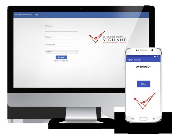 APP VIGILANT PERSONALE - Aplicación