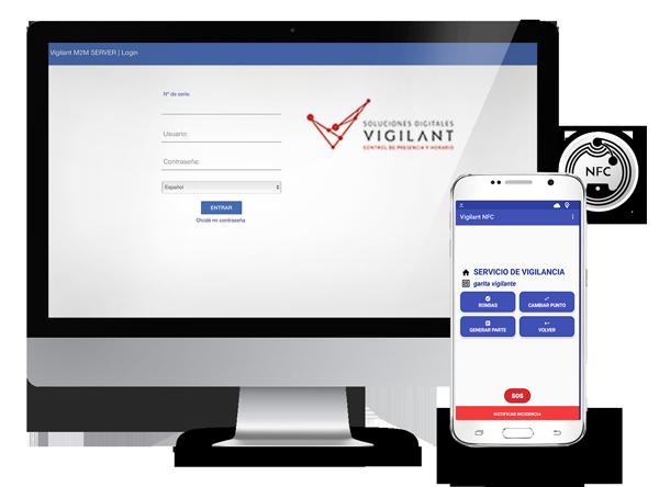 APP VIGILANT PROFESIONAL - aplicación