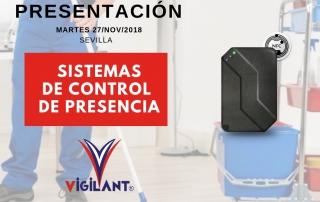 sistema de control de presencia - lector easy - vigilant