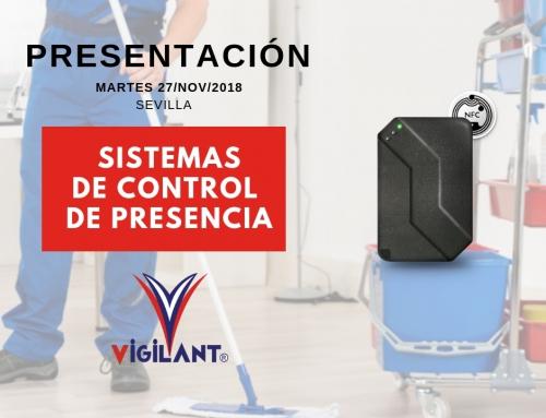 Presentación Vigilant en Sevilla