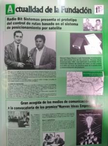 """vigilant - premio """"NUEVAS IDEAS EMPRESARIALES 1995"""""""
