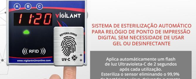 Relógio de Ponto - leitor biometrico - vigilant