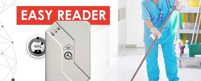 QR code - Easy Reader - control of the operators - Vigilant