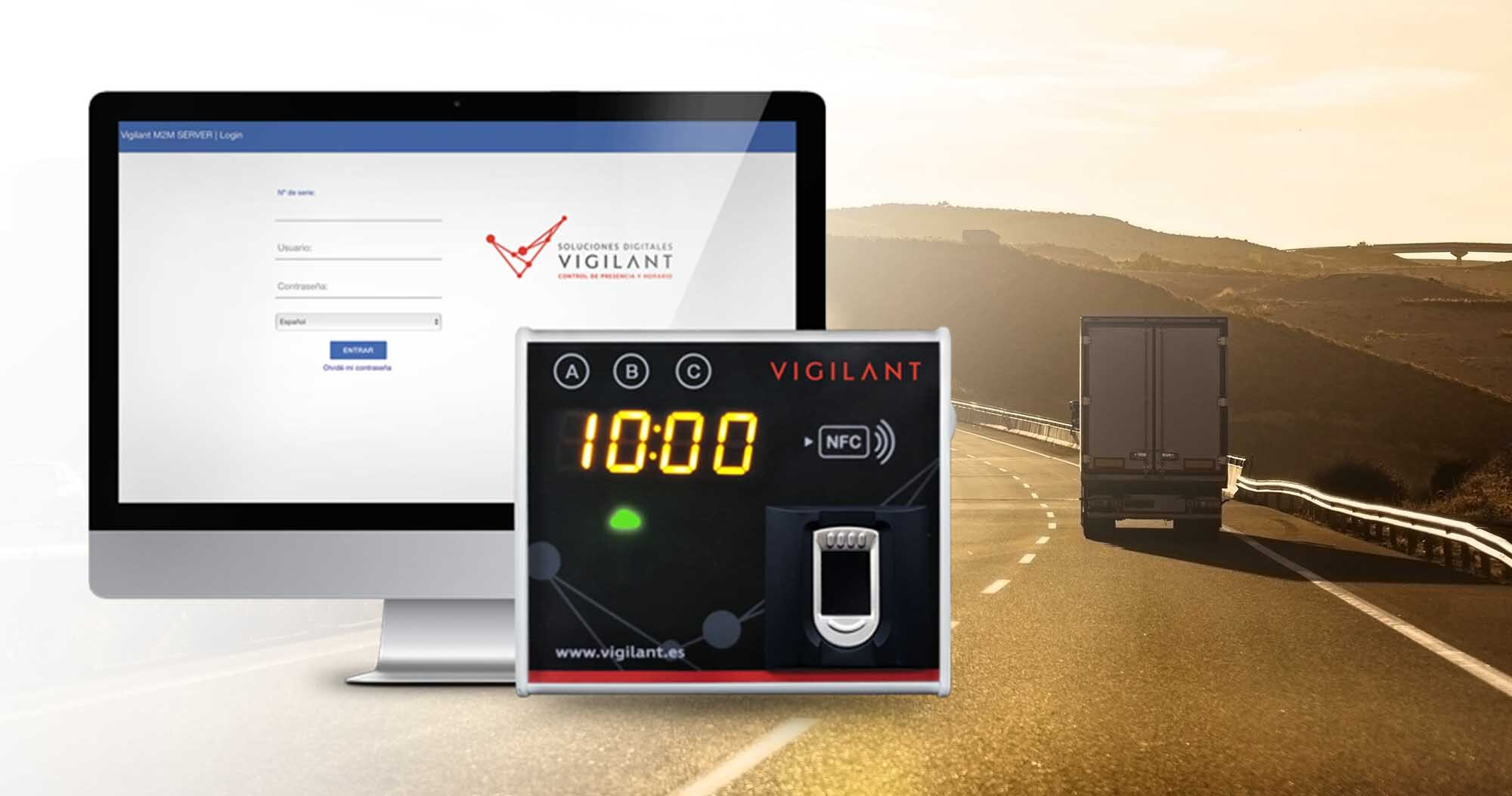 Fichador Biométrico - cursos CAP - Vigilant - soluciones